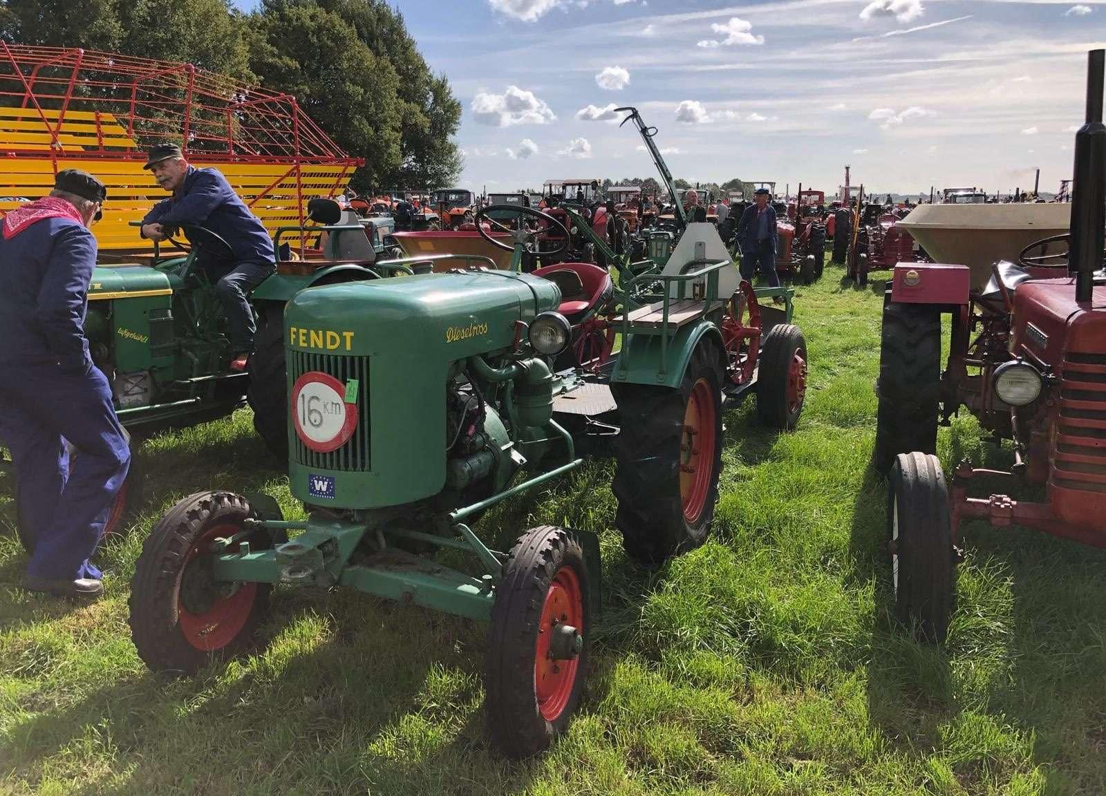 kenteken oldtimer tractor