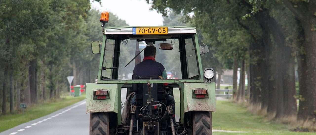 kenteken tractor